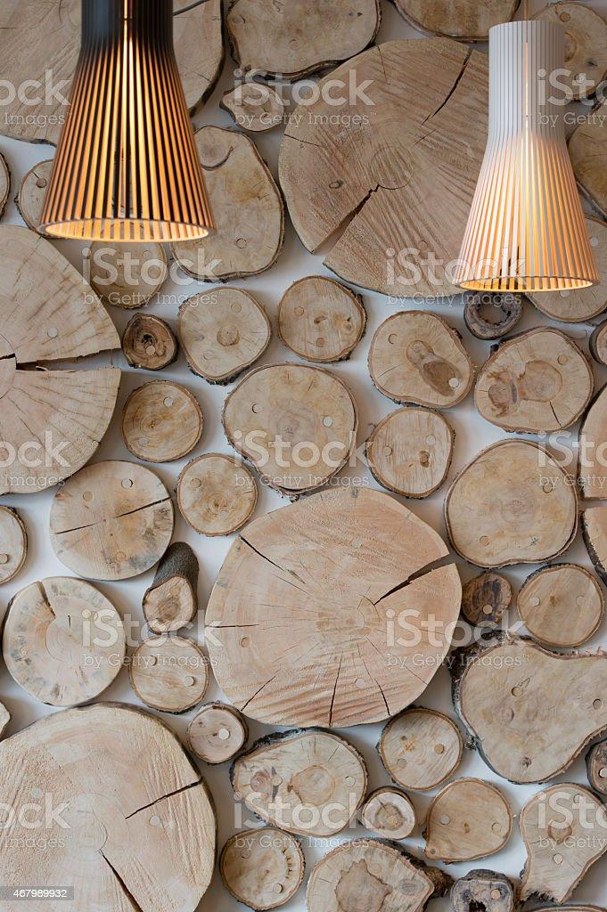 Экологический стиль фон вертикальные с светильникам стоковое фото