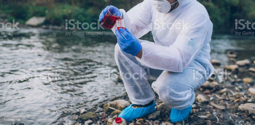 Ecological Water Sampling Stock Photo - Download Image Now