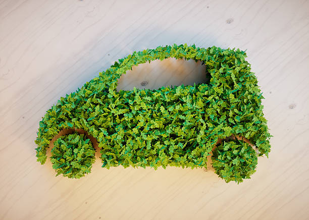 Ecology car concept Ecology car concept alternative fuel vehicle stock pictures, royalty-free photos & images