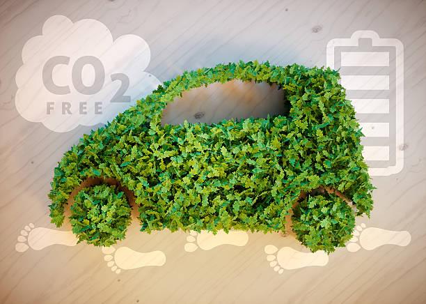 concetto di ecologia auto - automobile con biodiesel foto e immagini stock