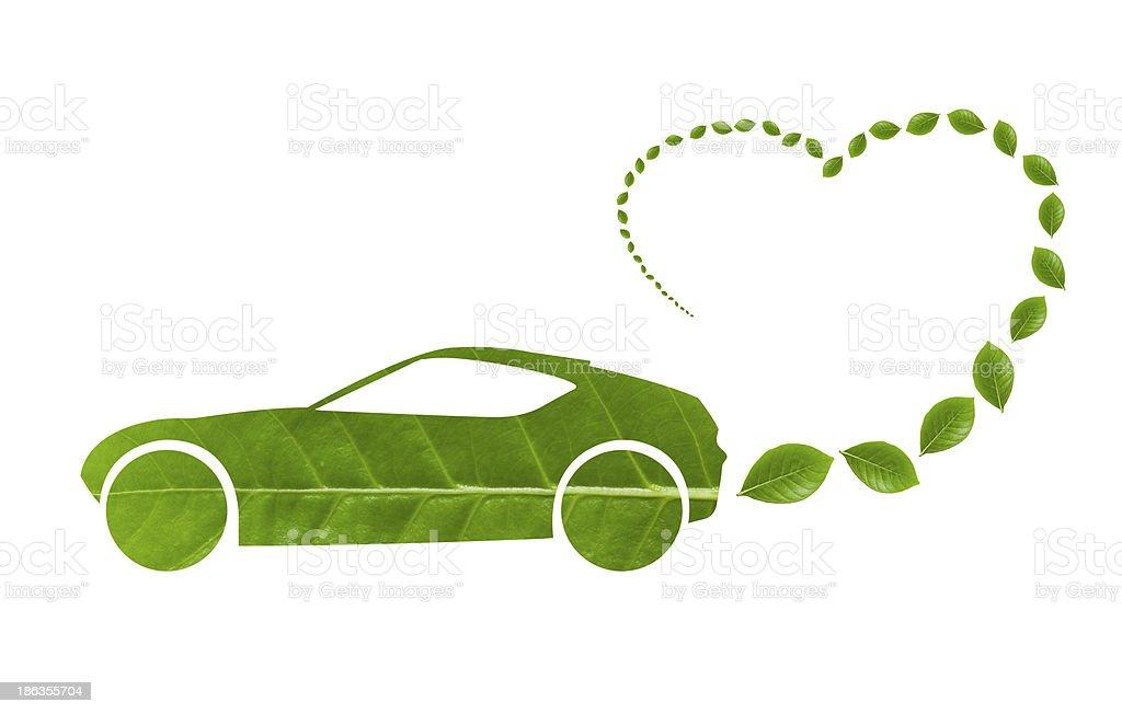 Ecology Car royalty-free stock photo