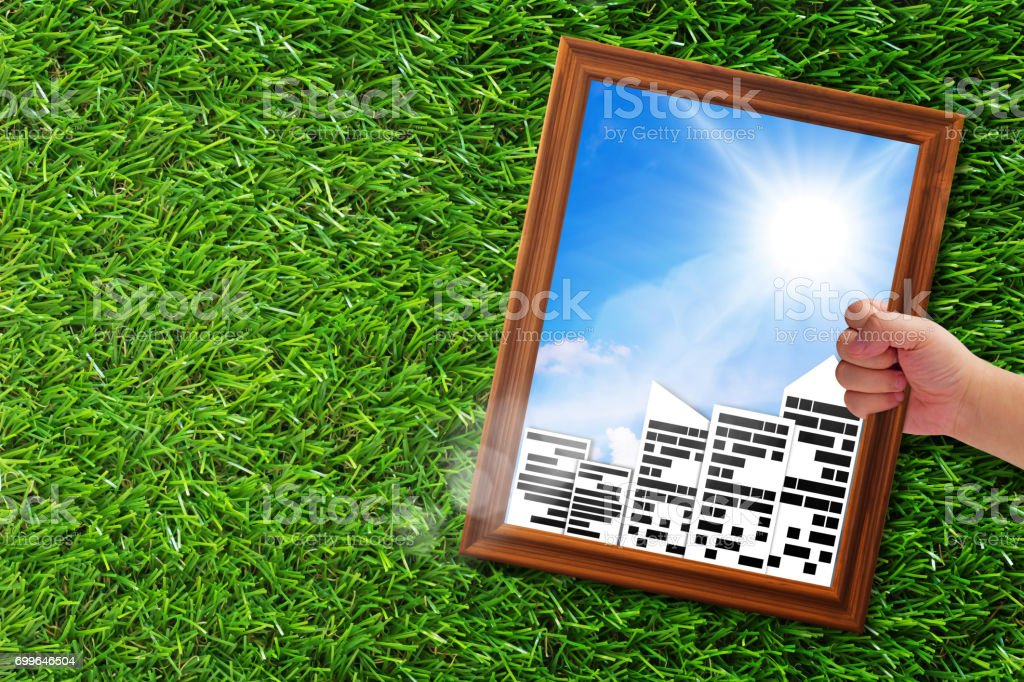 Ecology Concept Background stock photo