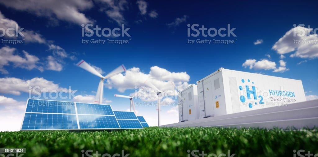 Ökologie-Energielösung. Strom, Gas-Konzept. Lizenzfreies stock-foto