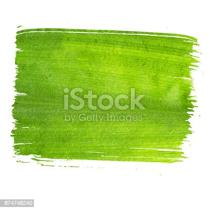 istock Ecology green banner, eco green textured banner. Green banner with texture 874746240