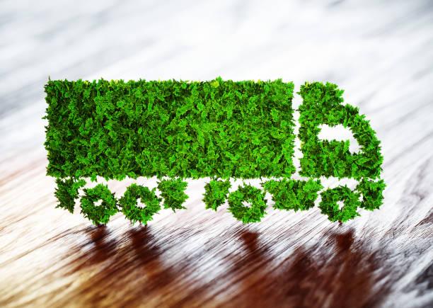 Ökologie-Logistik-Konzept. – Foto