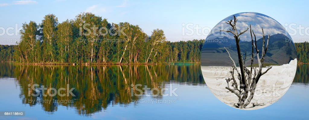 Ecology of the Earth. foto stock royalty-free