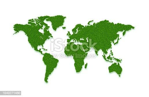 World Map, Grass, Lawn, Ecosystem
