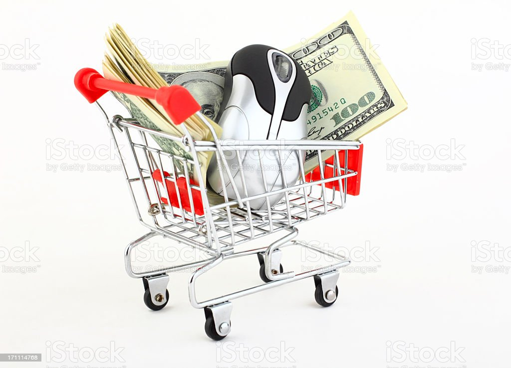 e-commerce royalty-free stock photo