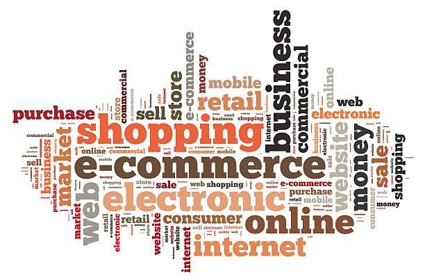 E-commerce. stock photo