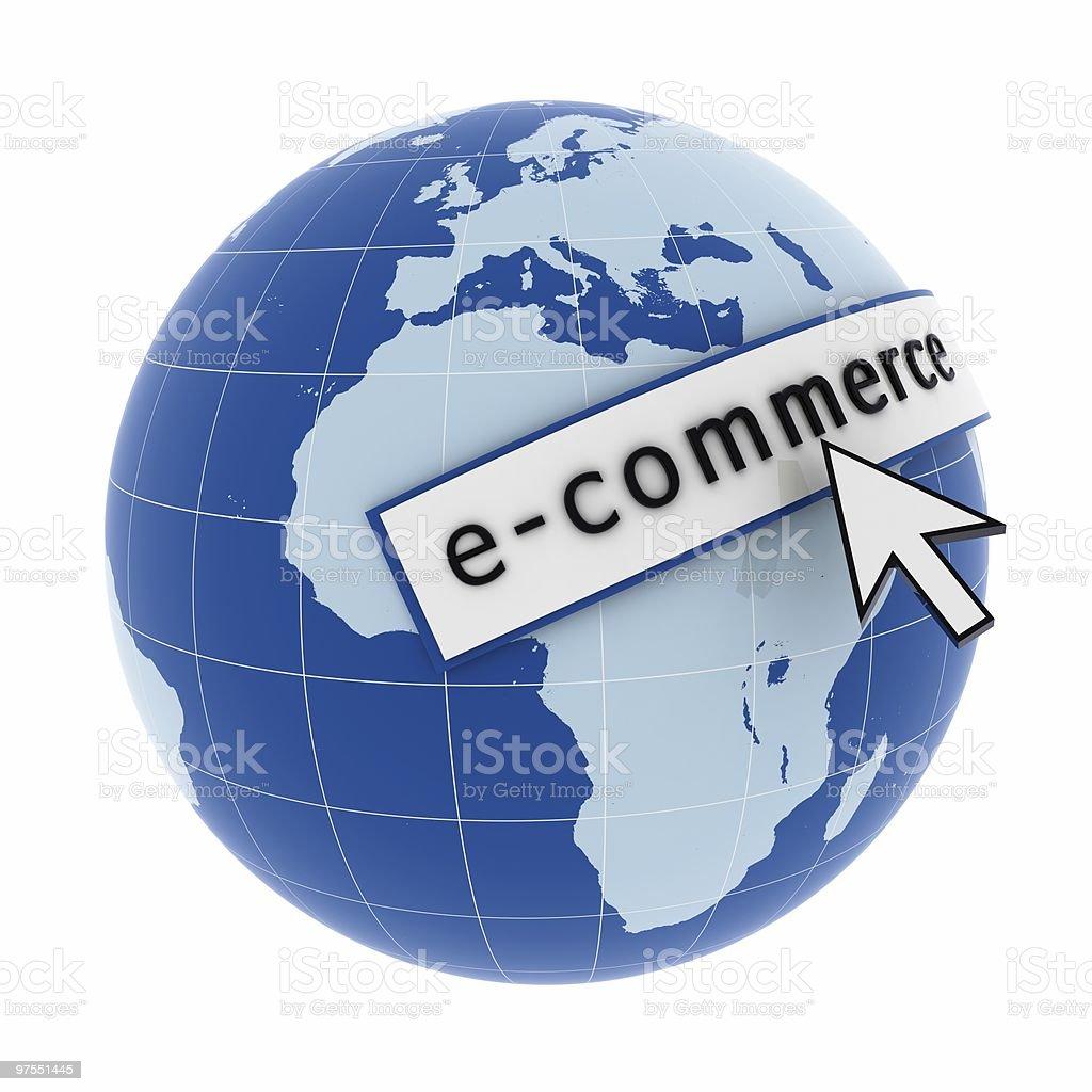 E-Commerce photo libre de droits
