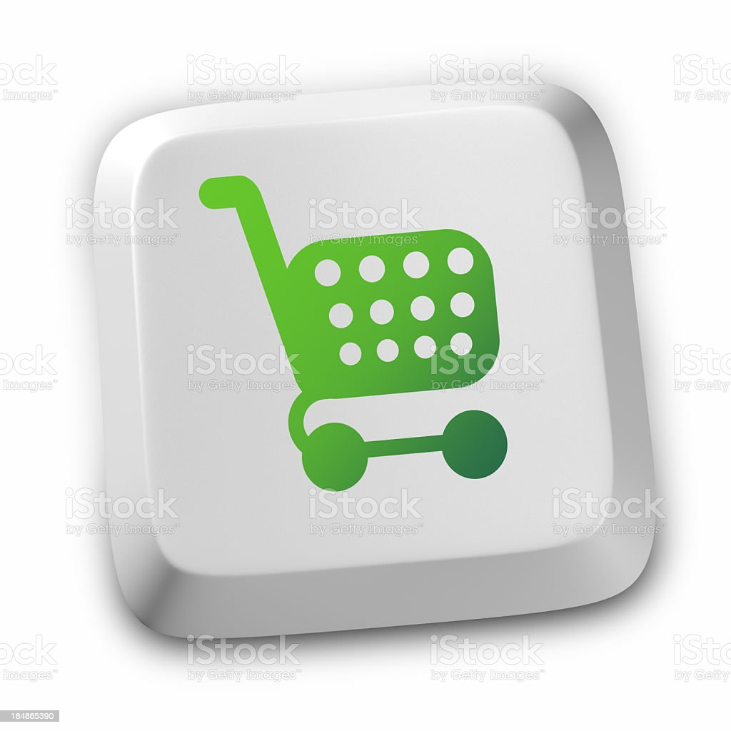 E-commerce Shopping Cart Buy royalty-free stock photo