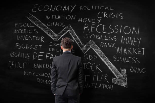 wirtschaftliche crecession - warchi stock-fotos und bilder