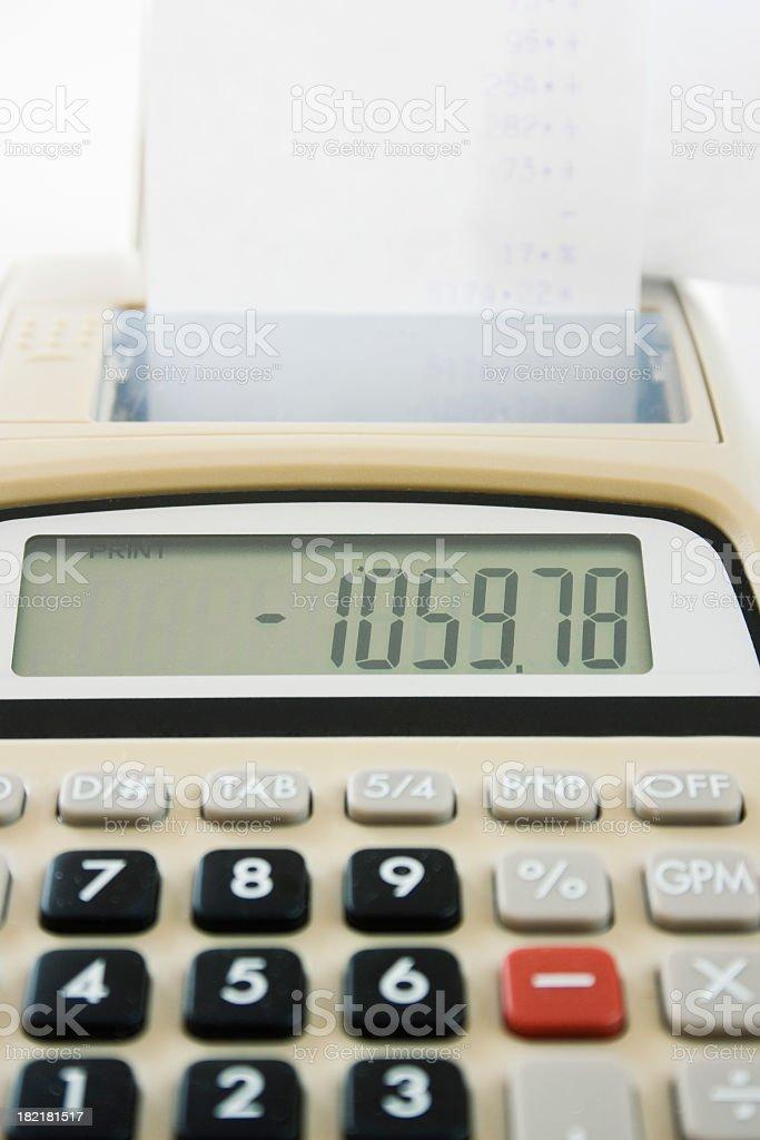 Economic crisis stock photo