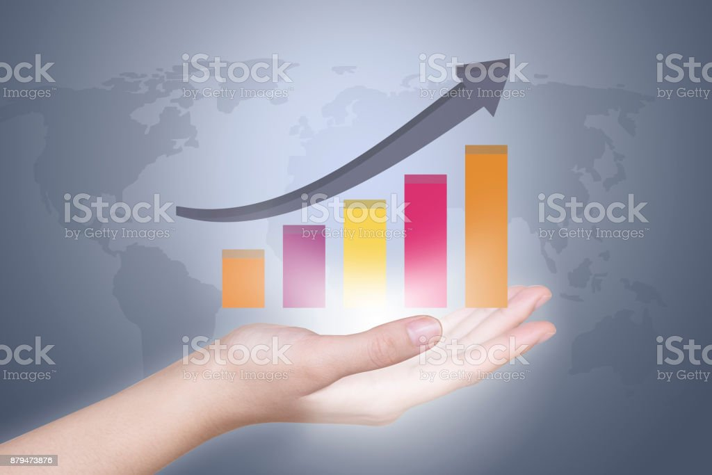 Economic growth stock photo