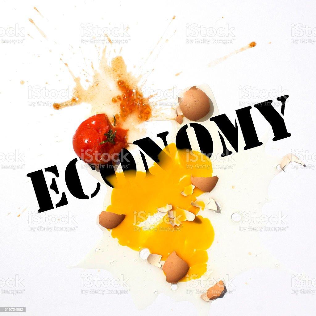 Economic Protest stock photo