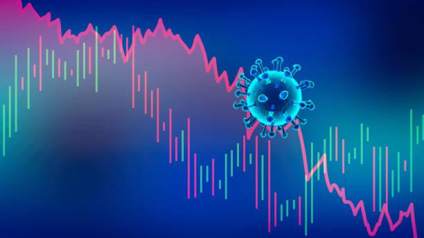 Wirtschaftliche Rezession durch Coronavirus – Foto