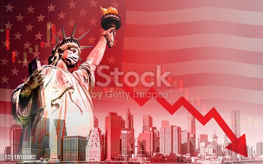 istock Economic recession during the coronavirus outbreak in United States 1211810392