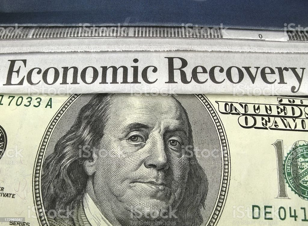 Economic Recovery stock photo