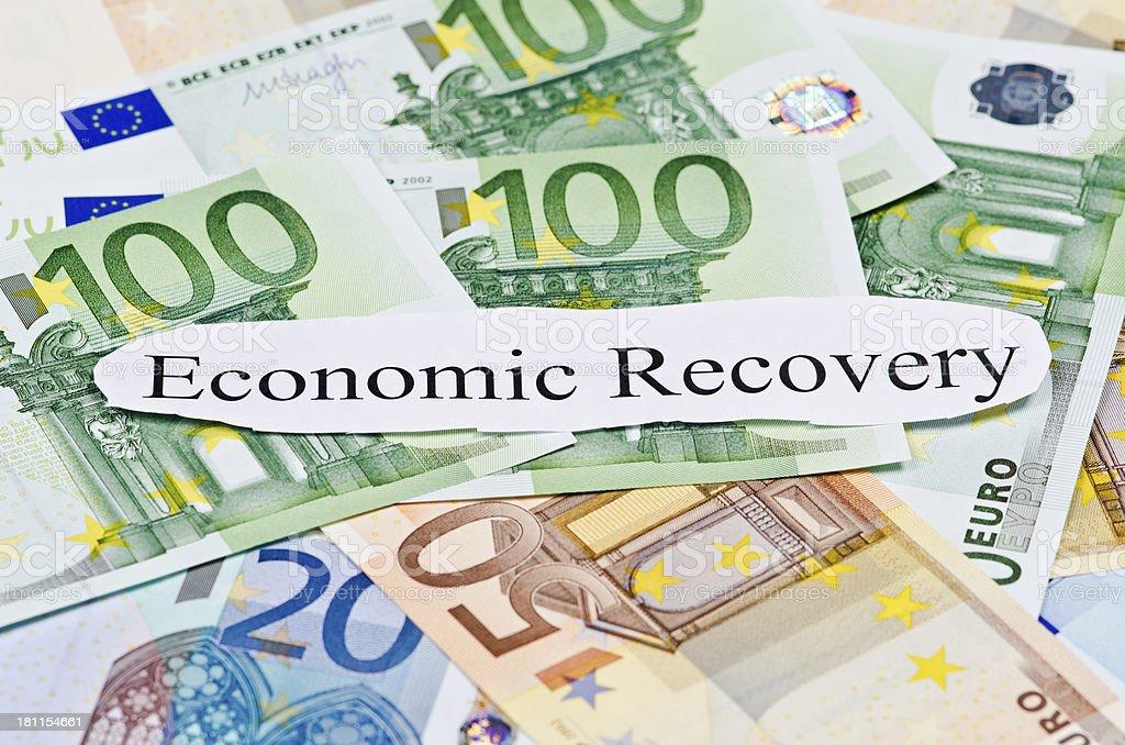 Economic Recovery royalty-free stock photo