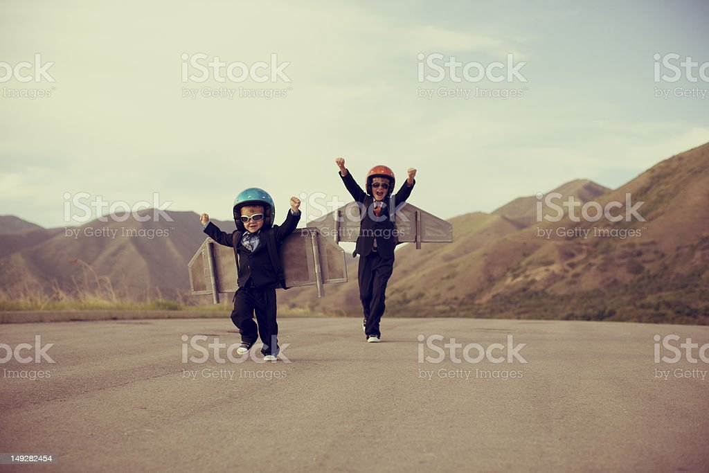 Economic Take Off stock photo