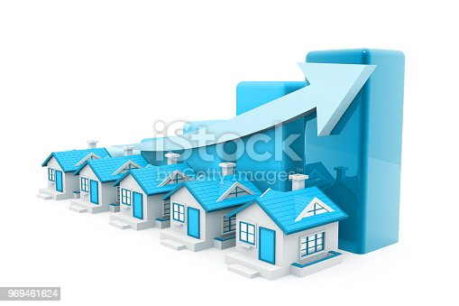 istock Economical Real estate chart 969461624