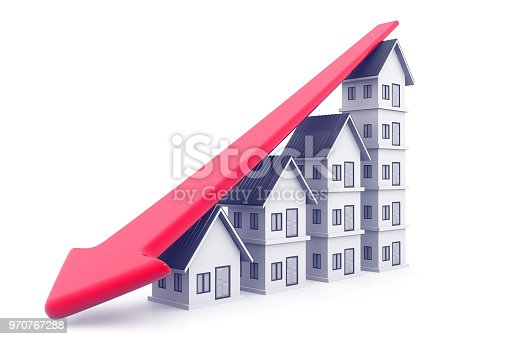 istock Economical Real estate chart 970767288