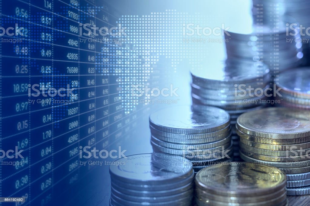 Economics and Stock Market royalty-free stock photo