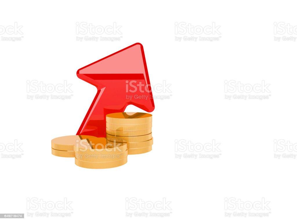 Economics Diagram stock photo