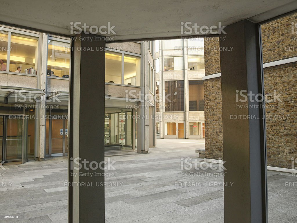 Economist building in London royalty-free stock photo