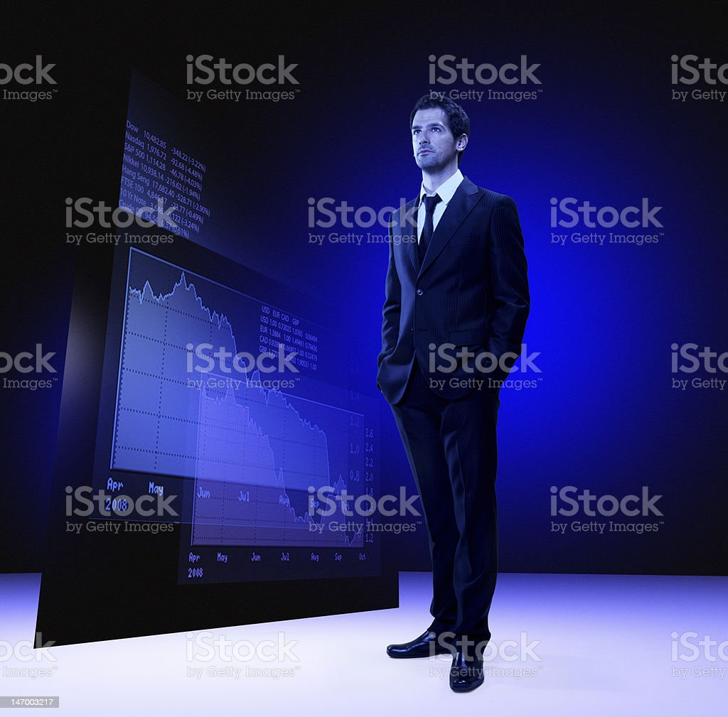 economist royalty-free stock photo
