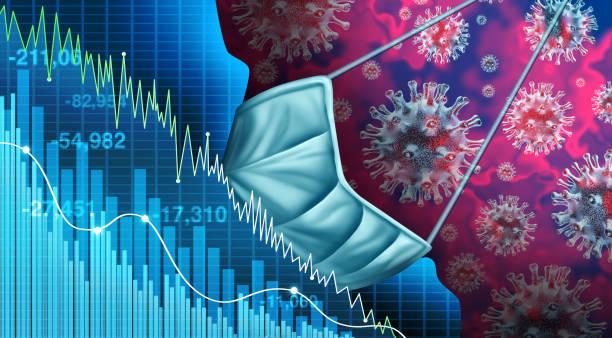 Economy And Disease stock photo