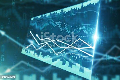 istock Economy and trade concept 935023008