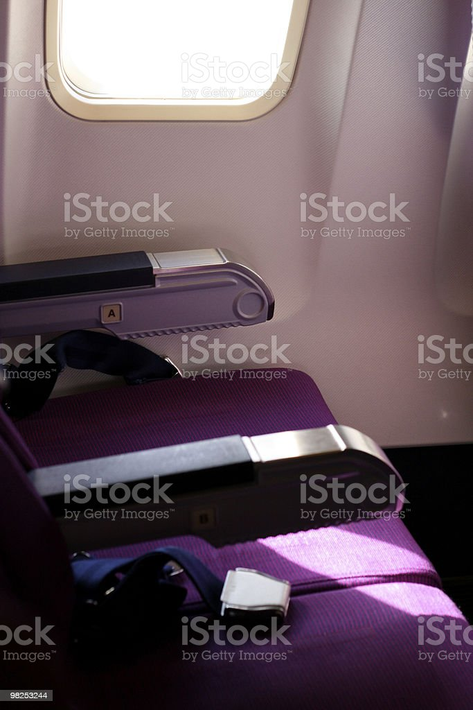 Economy Class royalty-free stock photo