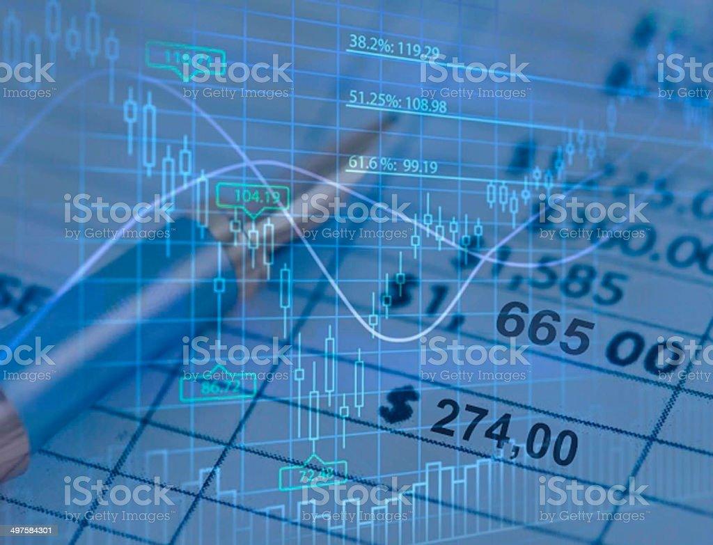 Economy Finance stock photo