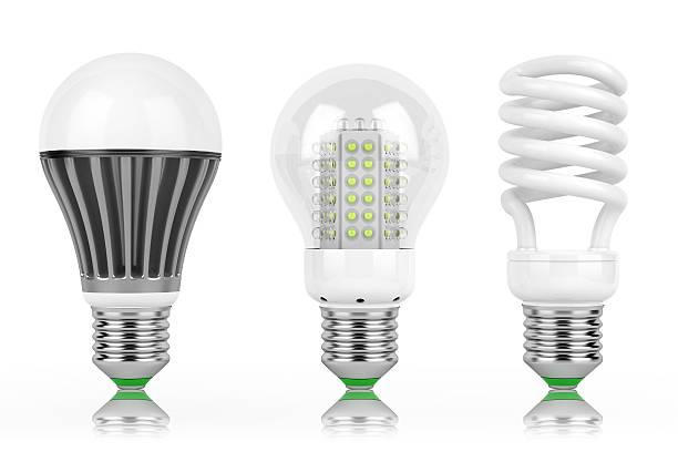 led-lampen wirtschaft - glühbirne e27 stock-fotos und bilder