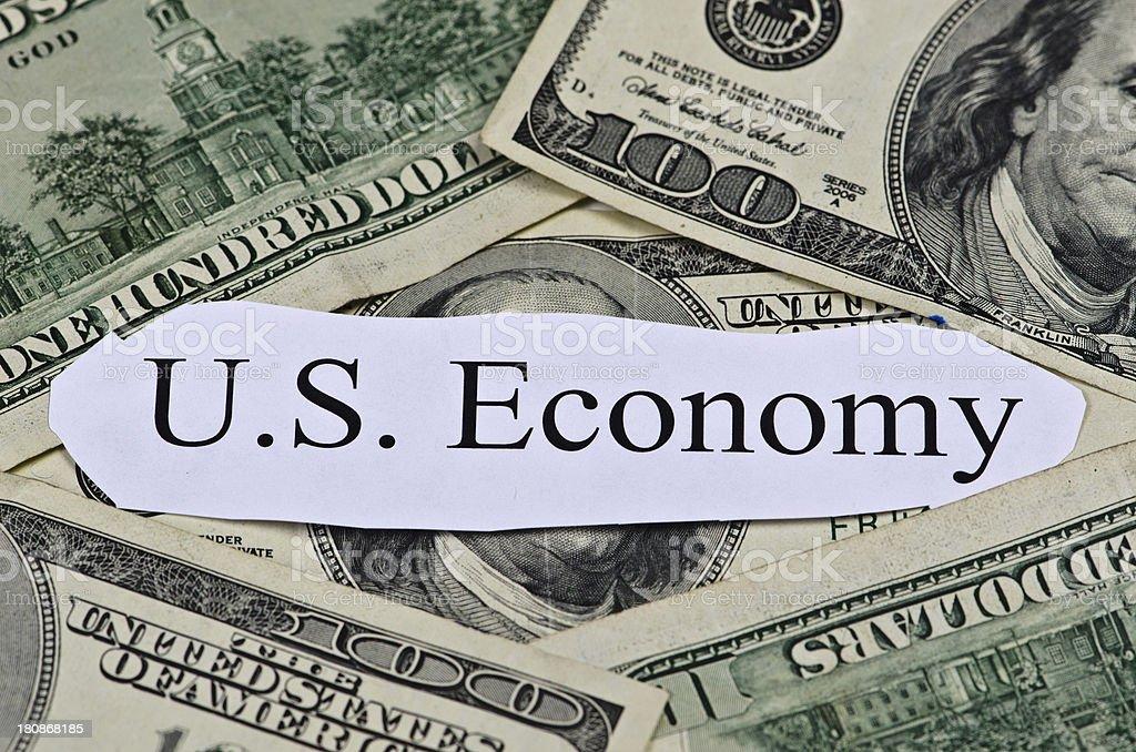 U.S.A. Economy royalty-free stock photo