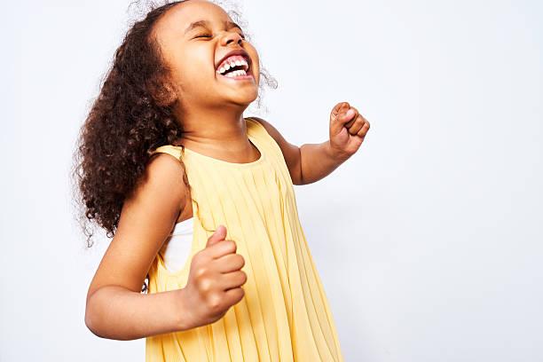 Ecstatic African-American Girl - foto de stock