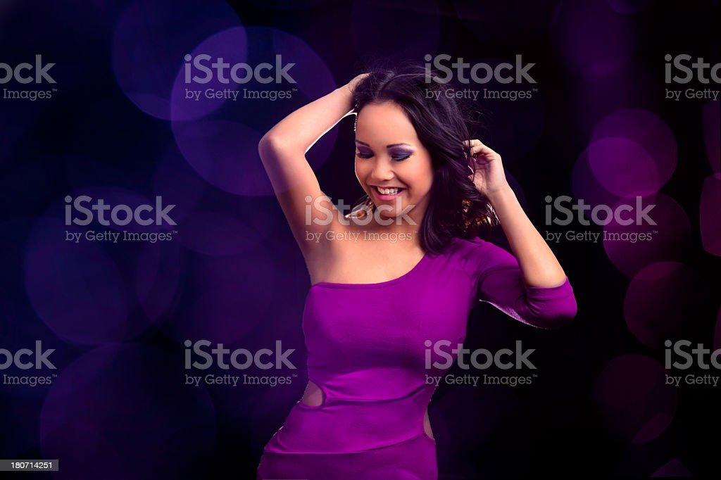 Ecstatic Dancing girl