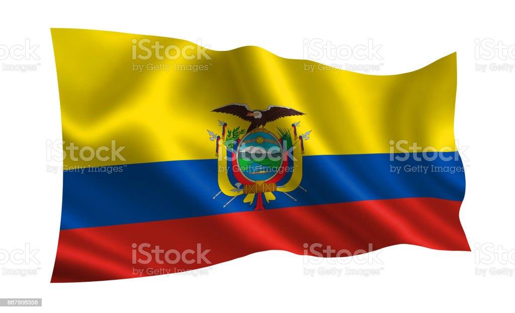 Ecuador Flag A Series Of Flags Of The World Stock Photo IStock - Ecuador flags
