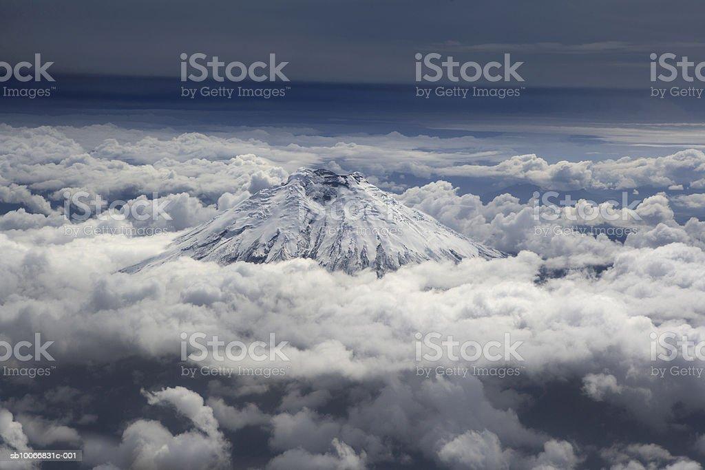 Ecuador, Mt Cotopaxi royalty free stockfoto