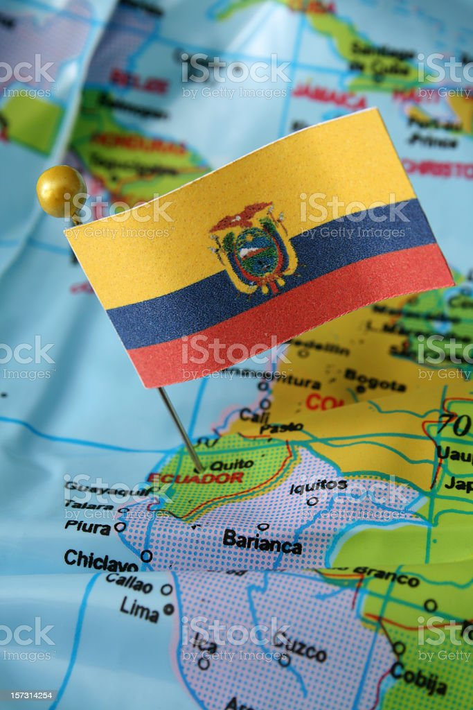 Ecuador stock photo