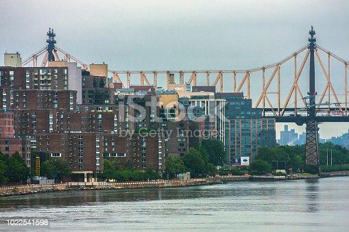 istock Ed Koch Queensboro Bridge in New York City 1022541598