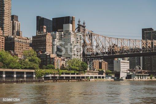 istock Ed Koch Queensboro Bridge, New York 523861254