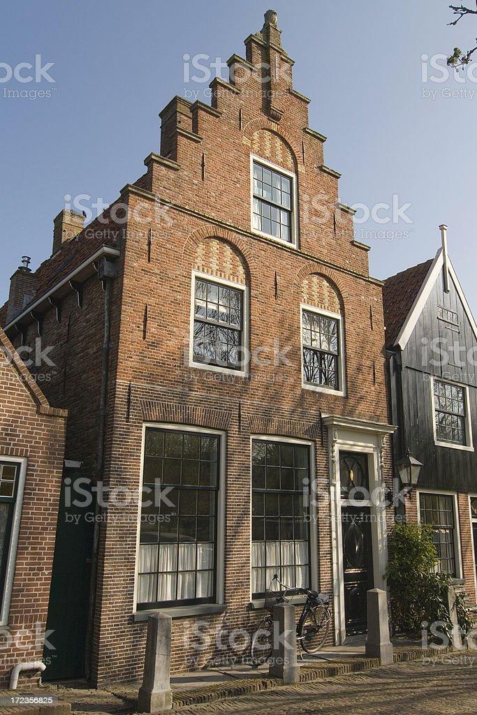 Edam Volendam foto de stock libre de derechos