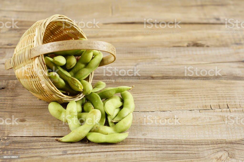Feijão edamame - Foto de stock de Alimentação Saudável royalty-free