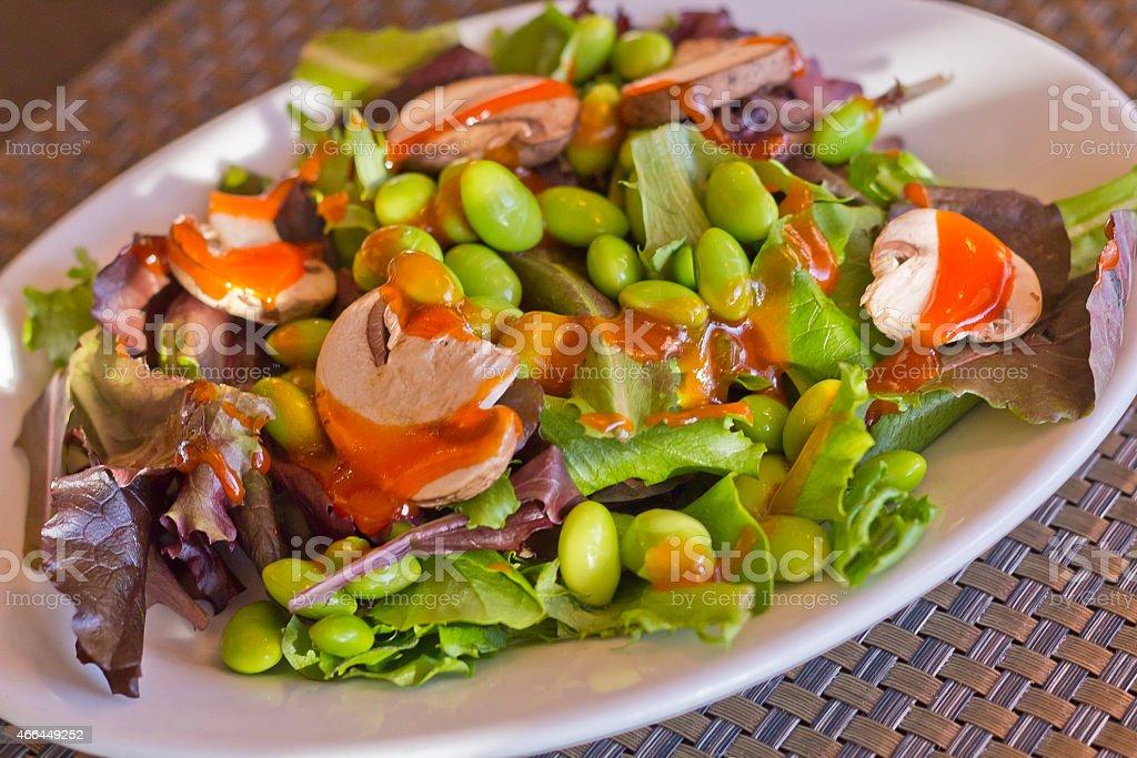 Edamame Salad stock photo