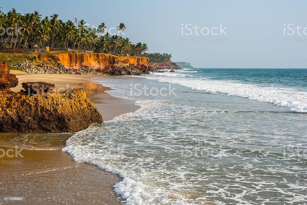Edava Beach stock photo