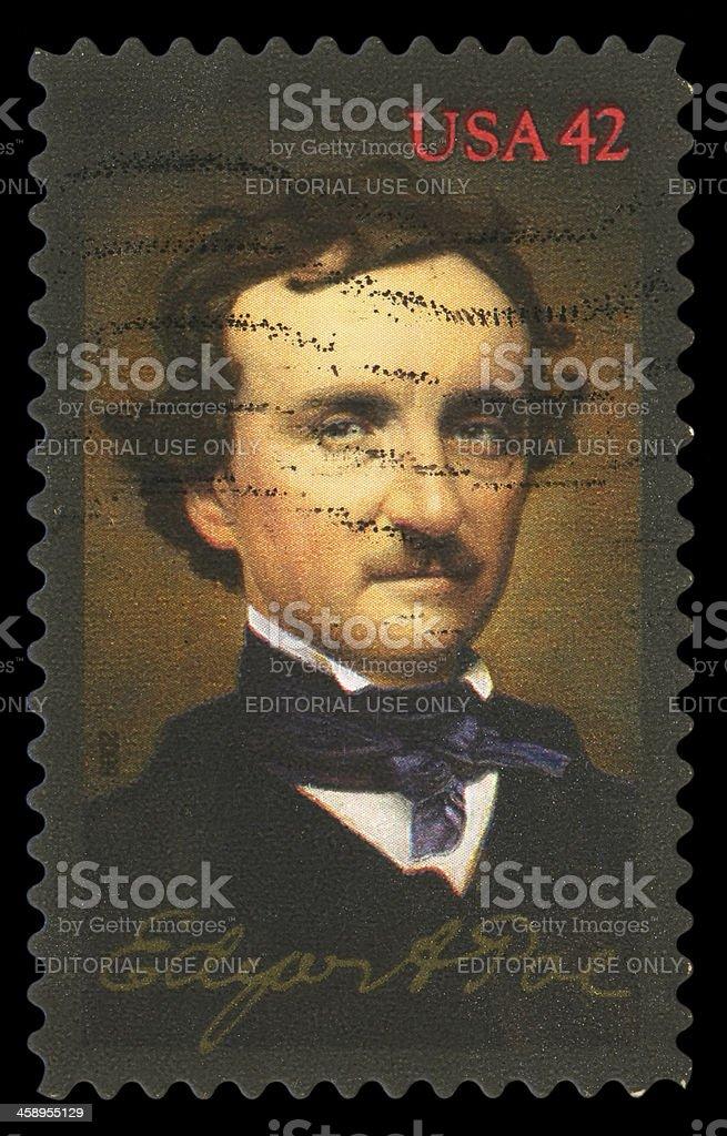 Edgar Allan Poe royalty-free stock photo