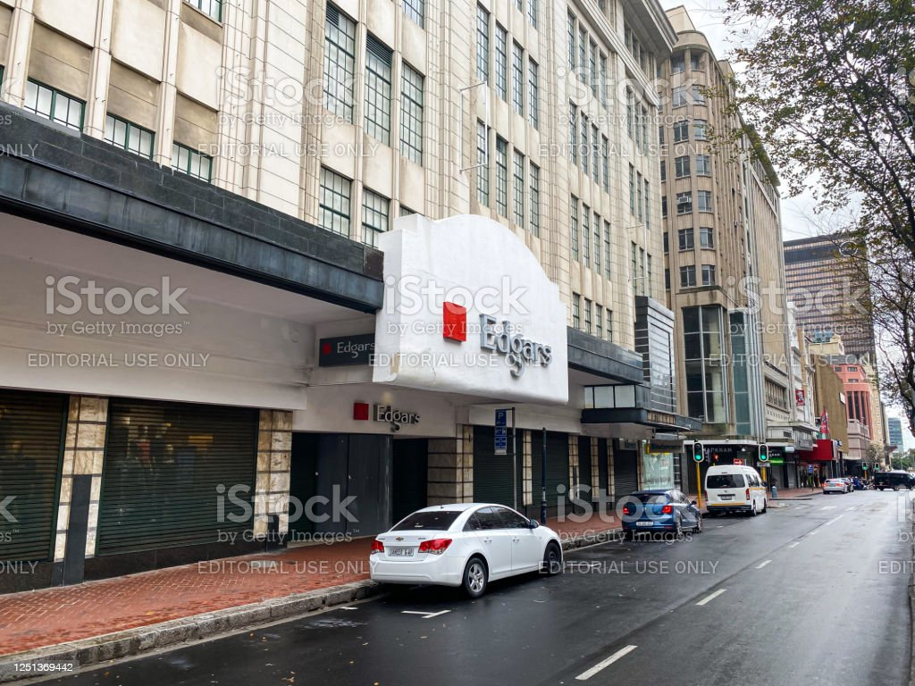 Edgars, Cape Town, South Africa Edgars on Adderley Street, Cape Town South Africa Architecture Stock Photo