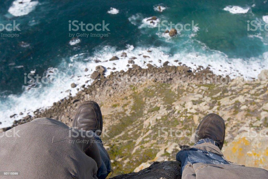 edge of Earth stock photo